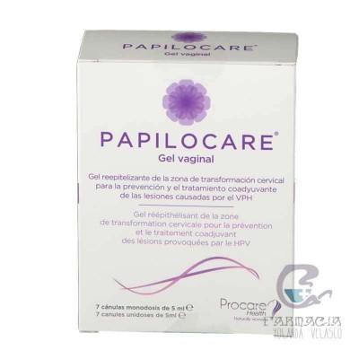 Papilocare Gel Vaginal 7 Cánulas 5 ml