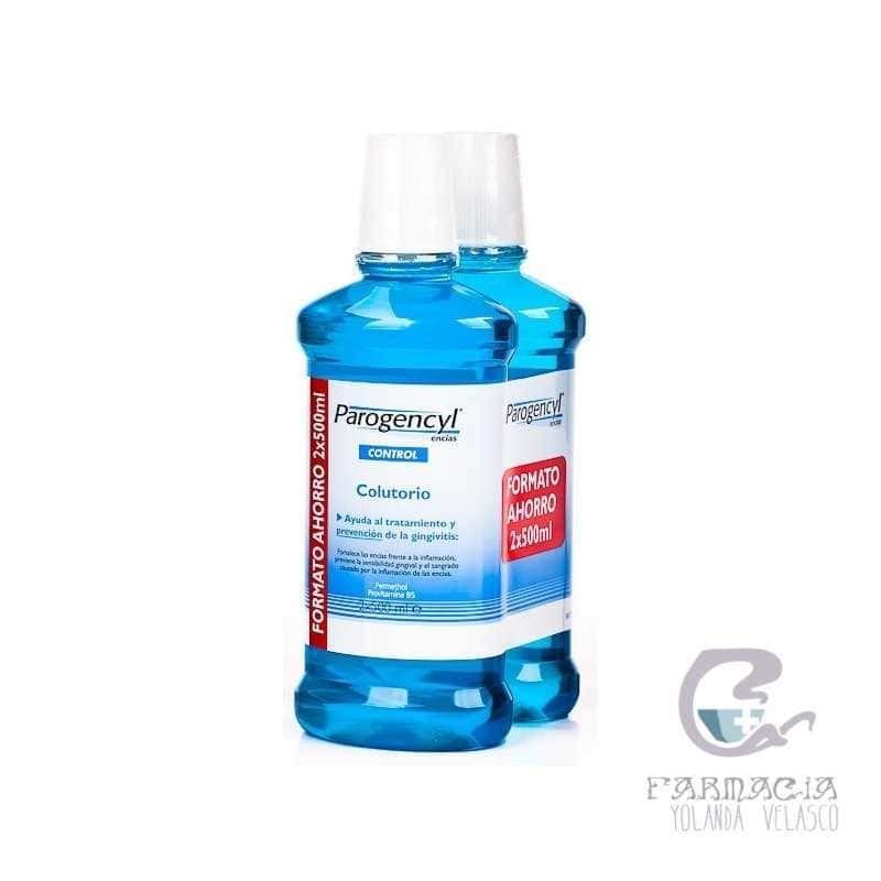 Parogencyl Encías Control Colutorio 500 ml 2 Unidades