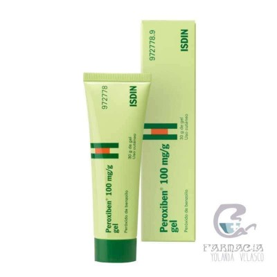 PEROXIBEN 100 MG/G GEL TOPICO 30 G