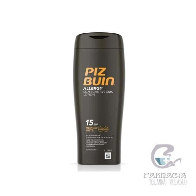 Piz Buin Allergy FPS 15 Protección Media Loción 200 ml