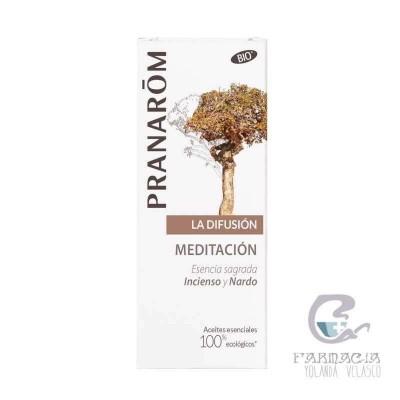 Pranarom Difusión Meditación y Olores Sagrados 30 ml