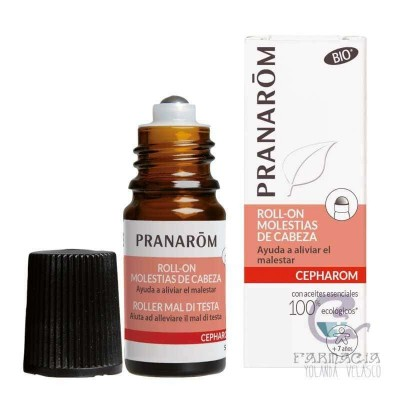 Pranarom Roll-On Molestias de Cabeza 5 ml