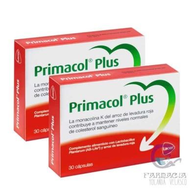 PRIMACOL PLUS PACK AHORRO 2X30 CAPSULAS