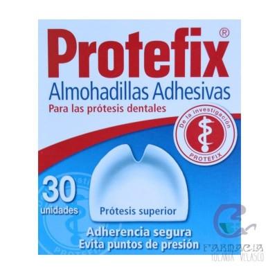 Protefix Almohadillas Adhesivas Prótesis 30 u Superior