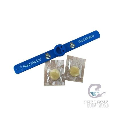Pulsera Citronella Real Madrid
