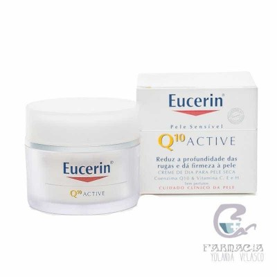 Q10 Active Antiarrugas Crema Eucerin Cutis Sensible 50 ml