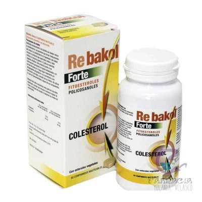 Rebakol Forte Arko Fitoesteroles 60 Comprimidos Masticables