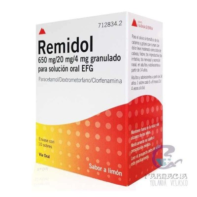 Remidol EFG 10 Sobres Granulado Solución Oral
