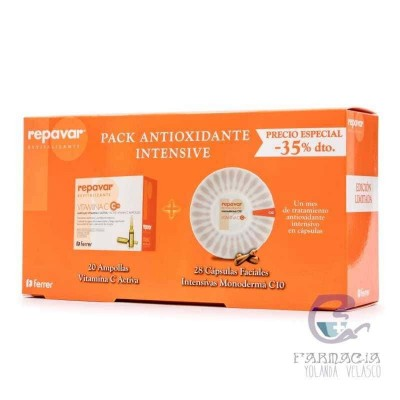 Repavar Pack Antioxidante Intense