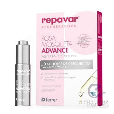 Repavar Regeneradora Aceite Puro Rosa Mosqueta 15 ml