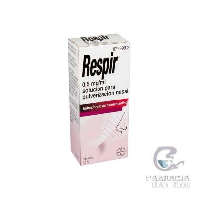 Respir 0.5 mg/ml nebulizador nasal 20 ml