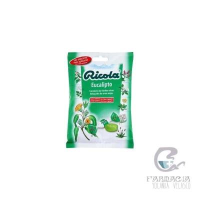 Ricola Caramelos Sin Azucar Euceliptus Bolsa 70 gr