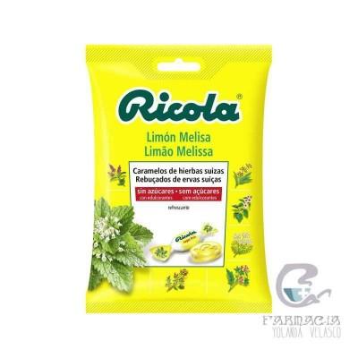 Ricola Caramenlos Sin Azucar Limón Bolsa 70 gr