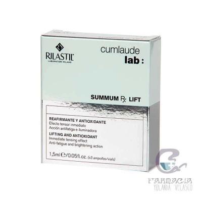 RILASTIL CUMLAUDE LAB: SUMMUM LIFT RX 3 AMPOLLAS