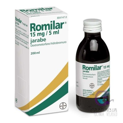 Romilar 3 mg/ml Jarabe 1 Frasco 200 ml