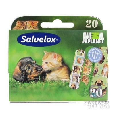 Salvelox Apósito Adhesivo Animals 20 Unidades