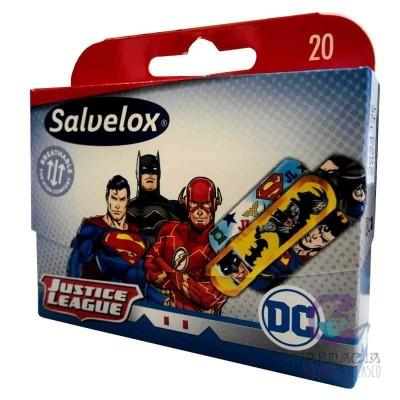 Salvelox Apósito Adhesivo la Liga de la Justicia 20 Unidades