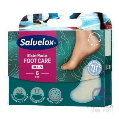 Salvelox Protectores Apósitos Hidrocoloides 40x61 mm 6 Unidades