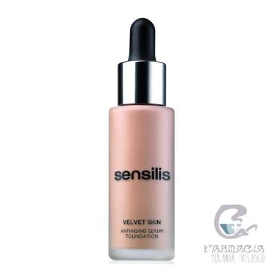 Sensilis Velvet Skin Maquillaje Tono 05 Cafe 30 ml