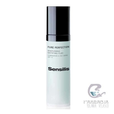 Sensilis Pure Perfection Fluido Matf SPF10 Hidratante 50 ml