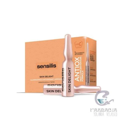 Sensilis Skin Delight Vitamina C Ampollas 15 Ampollas 1,5 ml