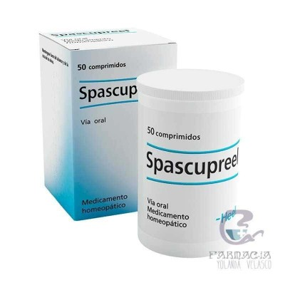 Spascupreel 50 Comprimidos