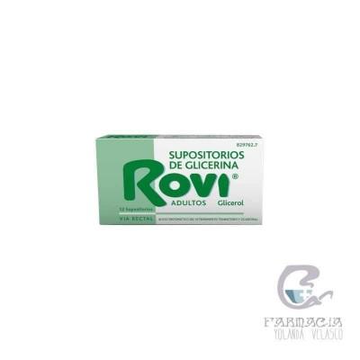 Supositorios Glicerina Rovi Adultos 3,36 g 12 Supositorios