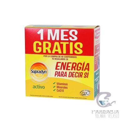 Supradyn Activo 90 + 30 Comprimidos