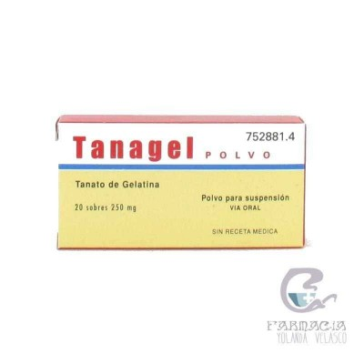 Tanagel Polvo 250 mg 20 Sobres Polvo Suspensión Oral