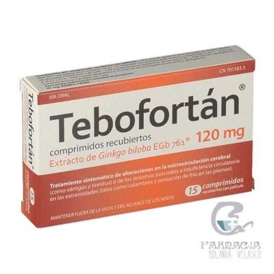 Tebofortan 120 mg 30 Comprimidos Recubiertos
