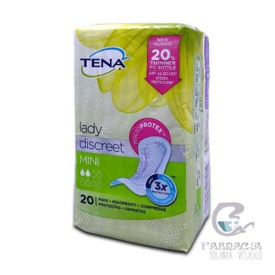 Tena Lady Mini 20 Unidades
