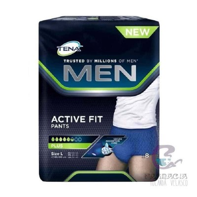 Tena Men Pants Avtive Fit Grande 8 Unidades