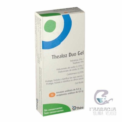 Thealoz Duo Gel Estéril Unidósis 0,4 mg 30 Unidosis