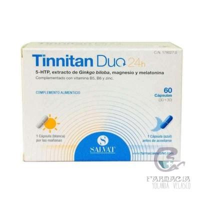 Tinnitan Duo 24 h 30 Cápsulas + 30 Cápsulas