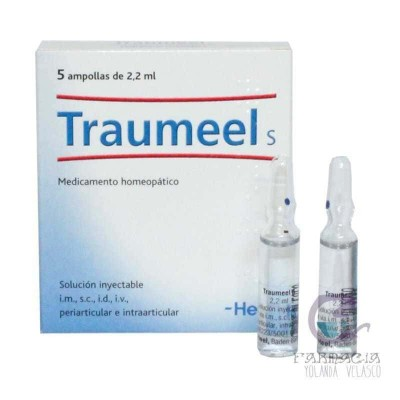 Traumeel S 5 Ampollas 5 ml