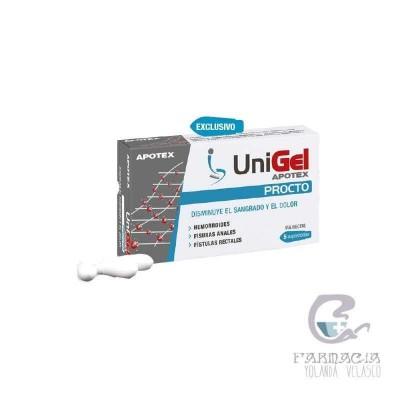 Unigel Procto Supositorios 5 Unidades