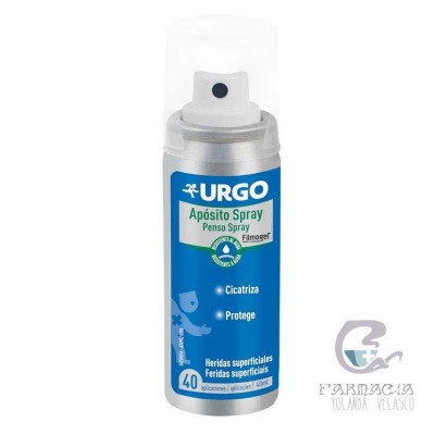 URGO HERIDAS SUPERFICIALES APOSITO SPRAY 40 ML