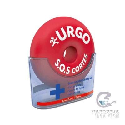 Urgo SOS Banda Autoadhesiva Recortable 3m x 2,5 cm