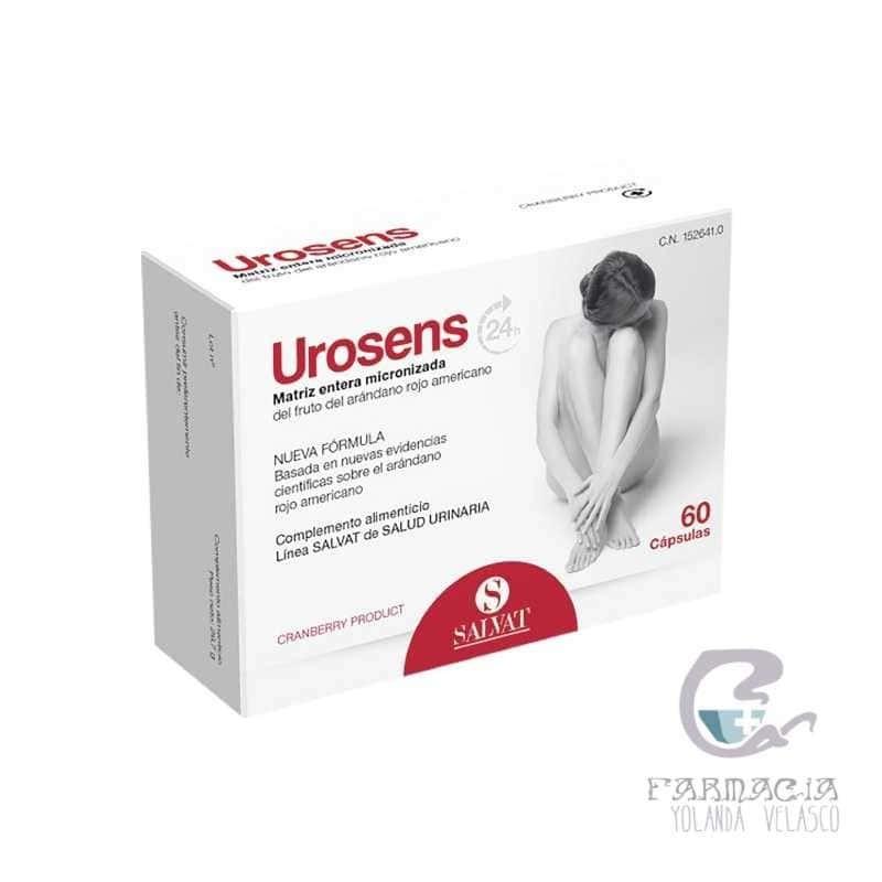 Urosens 120 mg 60 Cápsulas