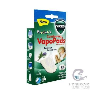Vapopads VH7 Recargas Aromáticas Romero y Lavanda 7 Recargas