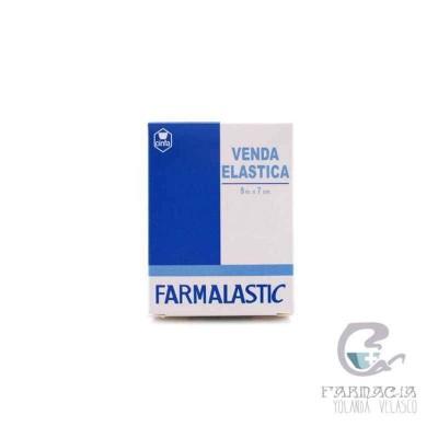 Venda Elástica Farmalastic 5x7 cm