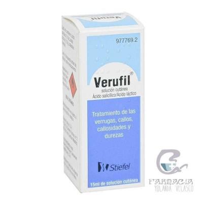 Verufil Solución Tópica 15 ml