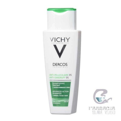 Vichy Dercos Technique Anticaspa Champú Cabello Graso 400 ml
