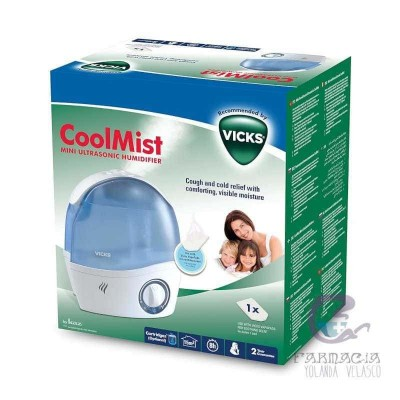 Vicks Coolmist Pediatric VH 5 Humidificador Mini Ultrasónico