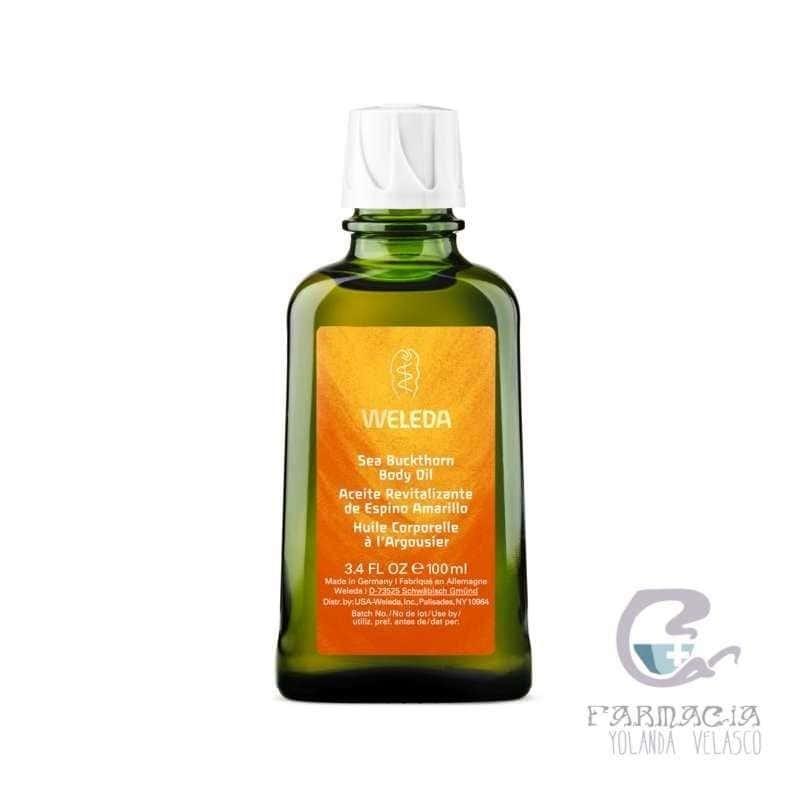 Weleda Aceite Revitalizante de Espino Amarillo 100 ml