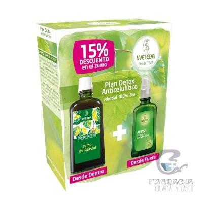 Weleda Pack Detox Zumo + Aceite