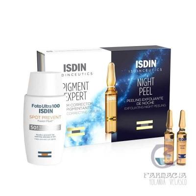 Pack Isdin Spot Prevent + Ampollas Pigment Día/Noche
