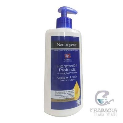 Neutogena Hidratación Profunda Aceite en Loción 400 ml