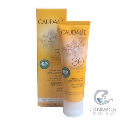 Caudalie Solar Facial Antiarrugas SPF 30 50 ml