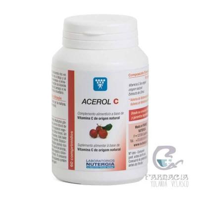 Nutergia Acerol C 60 Comprimidos